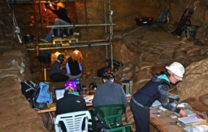 Scientists working in Pinnacle Point Cave, where they claim  the oldest human remains yet, have been found.